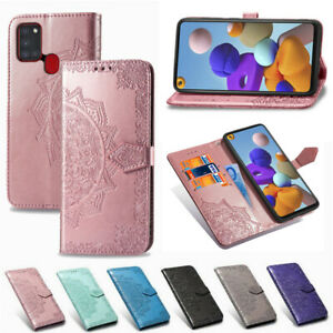 For Samsung Galaxy A21S S20 A71 A51 A31 A20S Leather Flip Card Wallet Case Cover