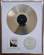 "Elvis Presley America gerahmte CD Cover +12"" Vinyl goldene/platin Schallplatte"