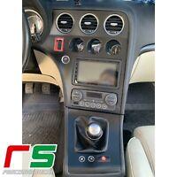Alfa Romeo 159 adesivi Decal cover consolle e cornice cambio carbonlook full