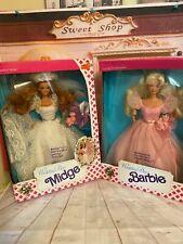 Vintage Wedding Day Midge and Barbie Lot. NRFB, Mattel. V