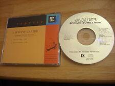RARE PROMO Raymone Carter CD single Spread Some Lovin' r&b Madagascar BB prince