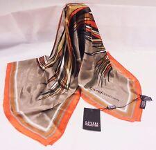 Foulard donna Enrico Coveri   Seta pura - 100% - Italy   Pure Silk Scarves