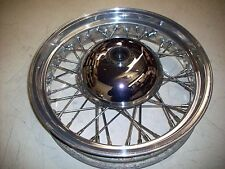 """AKRONT POLISHED FRONT WHEEL 16"""" 3.50 -40- TR-696-E-DOT SPAIN"""