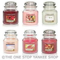 SAVE 25% - Yankee Candle Medium Jar Scented 14.5oz Variety
