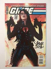 G.I. Joe #2 NM+ 9.6 Adam Hughes Baroness Variant Signed By Hughes & Dixon RARE