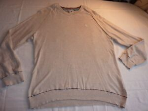 FAT FACE SIZE L/44 NATURAL COTTON V NECK JUMPER VERY THIN LIGHT FOR SUMMER