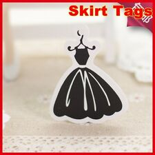 500pcs black lady dress hang tags.good for girl clothes fee shipping,clothes tag