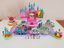 Magic Kingdom Castle DISNEY 6 figurines + extensions style POLLY POCKET vintage