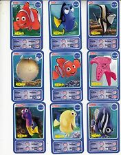 "LOT DE 9 CARTES DISNEY AUCHAN  ""NEMO"""