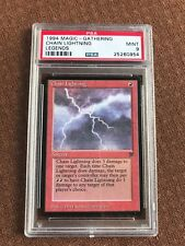 Chain Lightning, PSA 9, Graded, Legends, MTG, Vintage