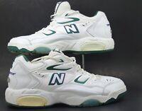 Balance Durance 790 Men's Walking Shoes White Green CT790W Size 13 D