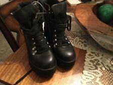 5f9cb0ba2aa Steve Madden Hiking Women 5.5 Black Hiking Boot NWOB