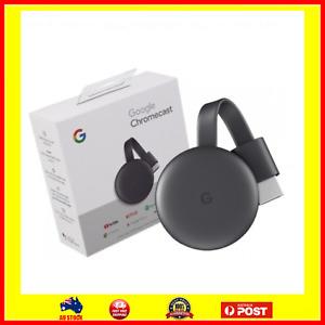 Latest Google Chromecast 3rd Gen Digital Media Stream HD GA00439-AU MFG 2021