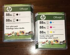 HP Officejet 88XL Black, Cyan,Magenta,Yellow Combo Value Packs 2010, 2011