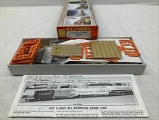 NEW IN BOX! WALTHERS HO SCALE 263' 5 UNIT ALL PURPOSE SPINE CAR TTX #79637