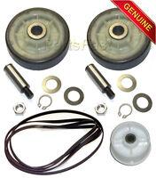 OEM Maytag Dryer Kit (2 Drum Rollers W/ Shafts, Belt, Idler Wheel)