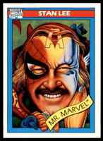 1990 MARVEL COMICS MR. MARVEL STAN LEE RC #161