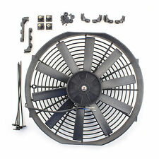 "ACP 14"" Universal Push Radiator Cooling Fan Straight Blades Replacement Unit"