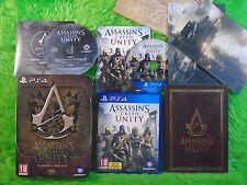 ps4 ASSASSINS CREED UNITY Bastille Steelbook Edition PAL REGION FREE Assassin's