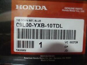 2002-2009 Honda Aquatrax Tie Down Kit w/ Straps Blue 09L00-YXB-10TDL 5 OEM New