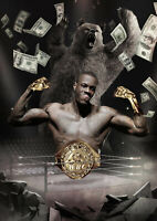 Deontay Wilder Money Print Art 8x10 Inch Glossy Photo Boxing Tyson Fury