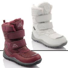 Scarpe Stivali sintetico con chiusura a strappo per bambine dai 2 ai 16 anni