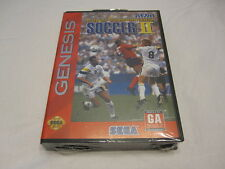 World Championship Soccer II (Sega Genesis) Brand New, Factory Sealed!