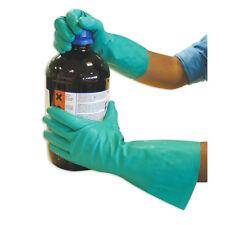 Polyco Matrix Nitri-Chem Green Nitrile Synthetic Rubber Safety Gloves size10 XL