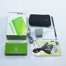 Brand New Launch Edition Green Nintendo DS Lite HandHeld Console System + gifts