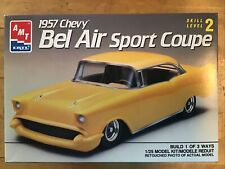 Amt 1957 Chevy Bel Air Sport Coupe Build 1 in 3 Ways #6563