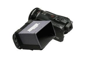 Hoodman HD350 LCD Hood for 3.5 inch Screens. Suits 16:9 HD Video Cameras