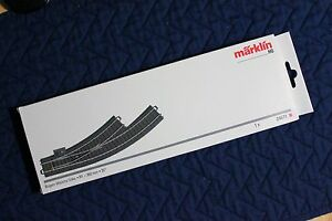 Marklin 24671 Left Hand Curved C Track Turnout, Switch, New in Box, Ships Fast!