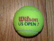 50 Used Tennis Balls Wilson Us Open.