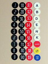 new key checks for antique national cash register model 442, 452...