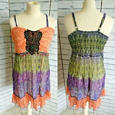 Joe Browns Gypsy Panelled Top Hippy Arty Festival Size 16