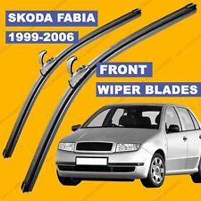 U-hook Front set Wiper Blade For Skoda Fabia 1999-2006 reg models