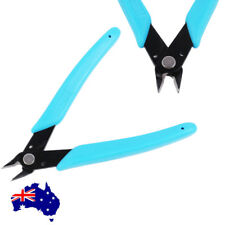 "5"" Flush Side Cutter Diagonal Cut Plastic Nippers Cutting Pliers Nippers Tool"