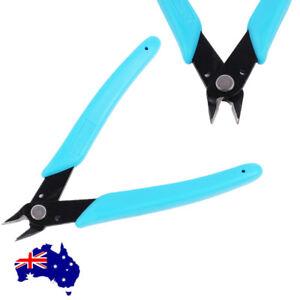 "5"" Flush Side Cutter Precision Shear Wire Snips Pliers Tool Diagonal Mini Cutter"