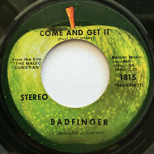 BADFINGER / COME AND GET IT / 1970 / APPLE 1815 / SCRANTON