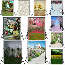 5x7ft Vintage Flower Wedding Backgrounds Photography Backdrops Studio Props 3x5