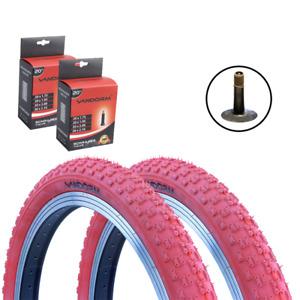 "Vandorm Comp 3 20"" x 1.95"" RED Tyre & Inner Tube DEAL OPTIONS"