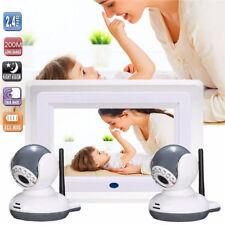 Digital Baby Monitor 7 Wireless Video Intercom 2 Camera
