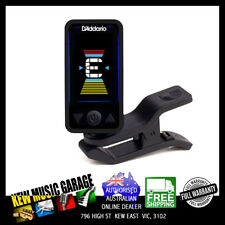 D'ADDARIO PLANET WAVES ECLIPSE CLIP-ON HEADSTOCK TUNER BLACK