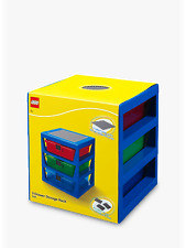 LEGO 3-Drawer Storage Rack-Blue Brand New Ideal for any lego Fan