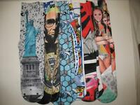 Variety of Odd Sox Casual Athletic Patterned Cotton Crew Socks Mens L / XL 6-13