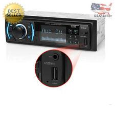 NEW Car Audio Car Stereo USB MP3 WMA AM FM Radio Single Din Bluetooth Boss Audio