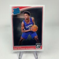 NBA 2018-19 Panini Optic Rated Rookie Card 162 Shai Gilgeous-Alexander Clippers