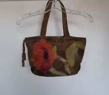 Coach 9258 Soho Floral Suede Tote Multicolor bag № D06J-9258