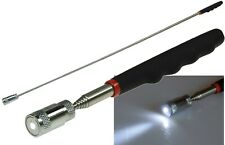 Teleskop Magnetheber mit LED Pick Up Werkzeug Magnetstab Magnetgreifer T5
