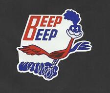 "The ""BEEP BEEP"" ROAD RUNNER  Sticker Decal TRUCK Car Surfboard Van Ute VW"